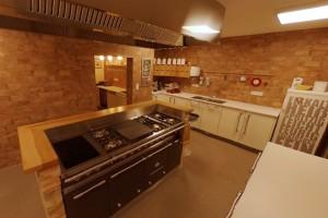 Küche und Kochen mit Chef Ansgar Zoller