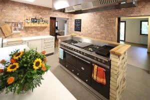 Die Küche - wir kochen mit regionalen Produkte